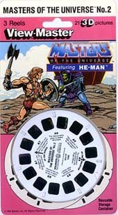 MASTERS OF THE UNIVERSE No. 2 - featuring HE-MAN - ViewMaster 3 Reel Set by 3Dstereo ViewMaster