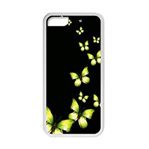 Welcome!Iphone 5C Cases-Brand New Design Beautiful Butterfly Printed High Quality TPU For Iphone 5C 4 Inch -03