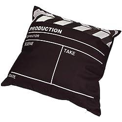 KMG Pillow Case, Kimloog Movie Theater Cinema Square Couches Chair Waist Zippered Throw Cushion Cover
