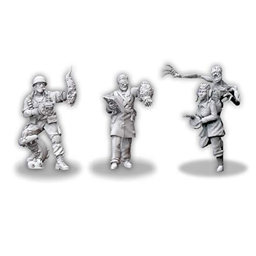 Achtung! Cthulhu Miniatures-Investigadores de los aliados, Pack 1 (Edge Entertainment muh00100)