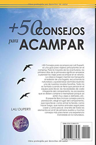 +50 Consejos para acampar (Spanish Edition): Lali Duperti: 9781723883279: Amazon.com: Books