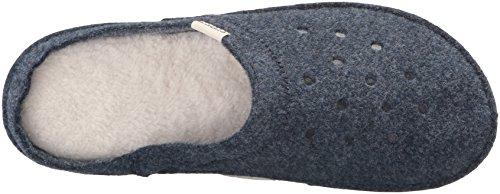 Crocs Classic Slipper-  Zuecos Unisex Adulto Blu (Nautical Navy/Oatmeal)