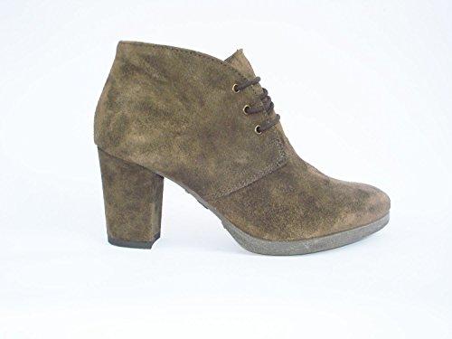 Cafenoir - Zapatos de vestir de Piel para mujer multicolor visón