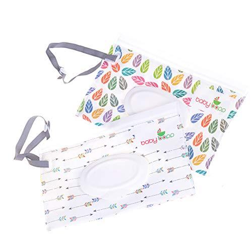 Uppero Reise-Tücher-Spender für Babys oder persönliche Tücher, 2 Stück 2 Stück jiangpanjiu