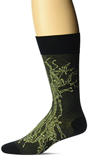 Ozone Men's Circuit Break Sock, Black, 10-13