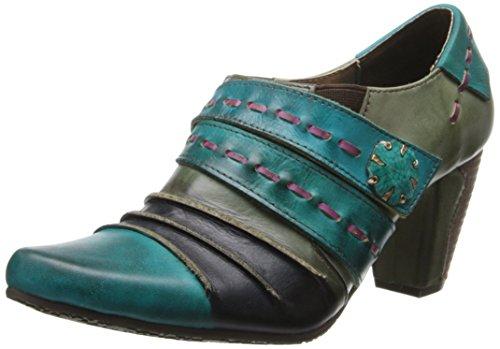 Lartiste By Spring Step Womens Wonderlijke Jurk Pump Turquoise / Multi