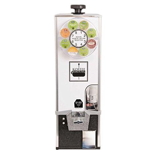 Koffee Karousel K-Cup Vending Machine (1-Quarter Coin Mechanism)