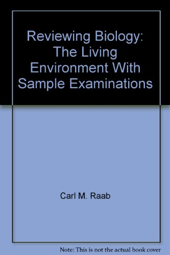Reviewing Biology: With Sample exminations