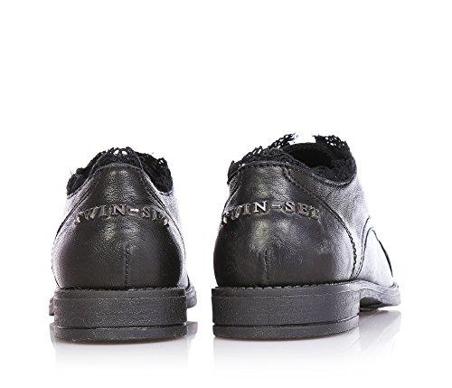 TWIN-SET - Chaussure noire, filles,enfant,femmes