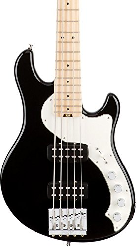 Fender American Elite  Dimension Bass V - Black -  0193002706