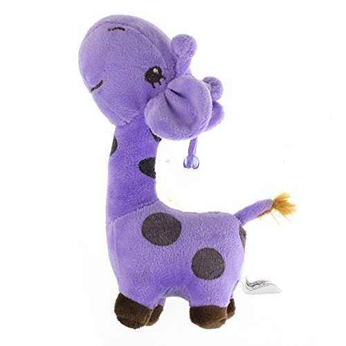 50s Polka Dot Rocker Costumes (Start Children Giraffe Soft Plush Toy Baby Animal Dolls Kid Gift-PP)