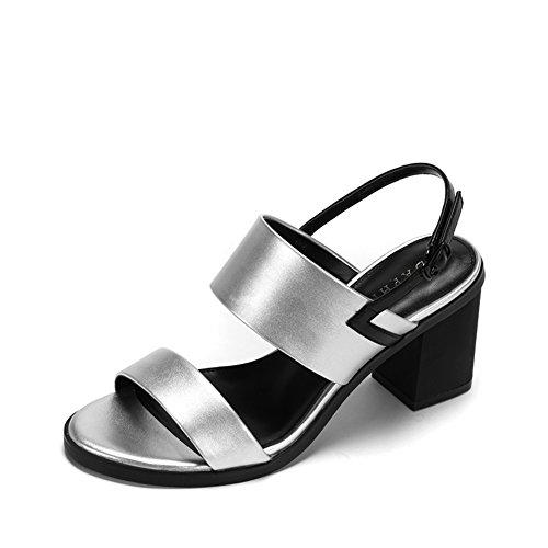 Lady Mit Zehen Und schuhen.,Roma-sandalen Mit Schnalle B