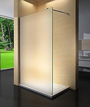 Yellowshop – Cristal para cabina de ducha fija Walk-in, mate, de 8 mm, transparente o con puntos.Medidas 70, 80, 100, 120 , y 140 cm., multicolor: Amazon.es: Bricolaje y herramientas