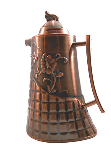 Antique Copper Finish Vacuum Flask Coffee Server