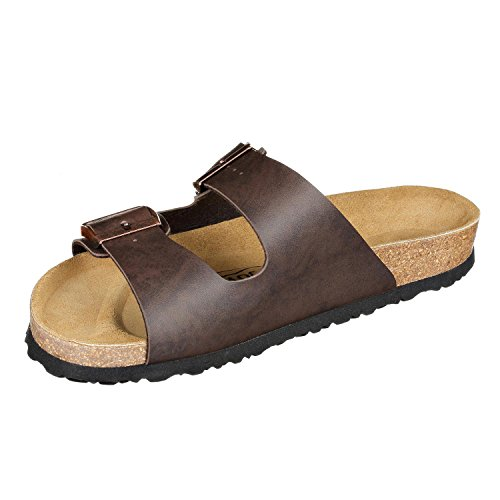 JOYCE Mules N Brown Sandals Synsoft Unisex London JOE 5qZwxgp1p