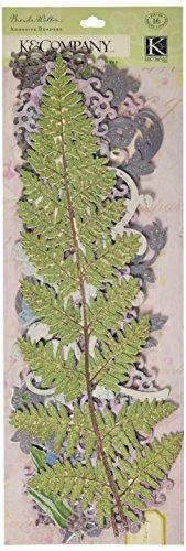 K&Company Brenda Walton Flora & Fauna Adhesive Borders, Swirl