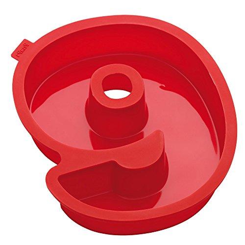 Lekue Number 9 Cake Mold, Red