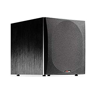 """Polk Audio PSW505 12"""" Powered Subwoofer - Deep Bass Impact & Distortion-Free Sound 