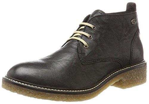 camel active Damen Palm 70 Desert Boots Schwarz (Black)