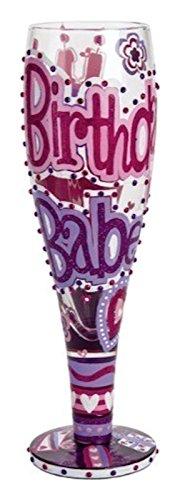 UPC 704519697460, Lolita Glassware Birthday Babe Pilsner (PIL2-5534C), Multicolor