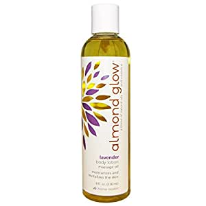 Home Health Almond Glow Lotion, Lavender, 8 Ounce