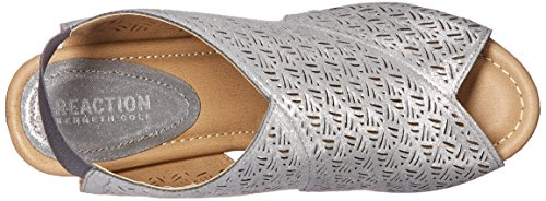 Pewter 2 Wedge Womens Kenneth REACTION Sole Cole Safe Sandal q8SXCaw
