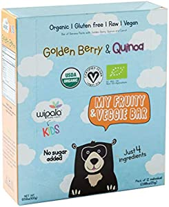 Giveaway: Wipala Healthy Snacks - Golden Berry & Carrots - Organic...