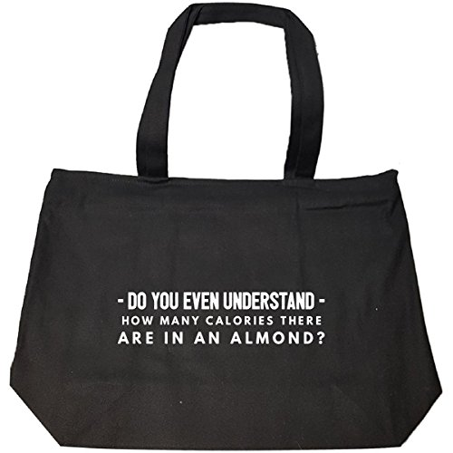 Price comparison product image How Many Calories Are In An Almond Funny Keto Diet Gift - Tote Bag With Zip