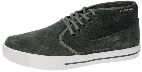 Ascot Rhombus Chaussures montantes en toile à lacets Homme - Gris - gris, 40.5 (7 UK)