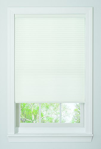 "Bali Blinds Cordless Light Filtering Cellular Shade, 27"" x 64"", White"
