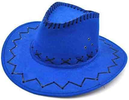 36cbe28125086 Fancy Cowboy Hats Men Women Vintage Wide Brim Headwear Cap Western Hat  Fashion Jazz Cap Spring