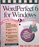 WordPerfect 6 for Windows, Kristy Clason, 1559585129