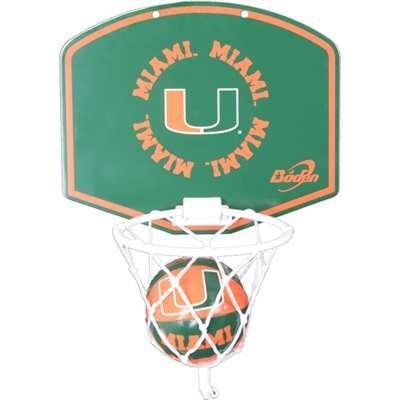 Miami Hurricanes Mini Basketball Hoop product image
