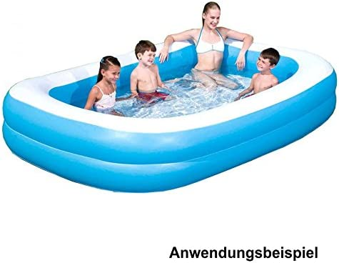 Piscina Inflable Rectangular 262x175x51cm: Amazon.es: Jardín