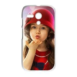 Motorola G Cell Phone Case Covers White boy Girl Kiss Loves UD1376221