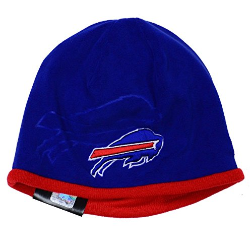 New Era Men's NFL 2015 Buffalo Bills Sideline Tech Knit Hat Blue/Red Size One Size