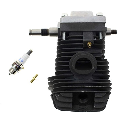 Carbhub 42.5mm Cylinder Assembly for STIHL 023 025 MS230 MS250 Chainsaw with Spark Plug Replacement Crankcase -
