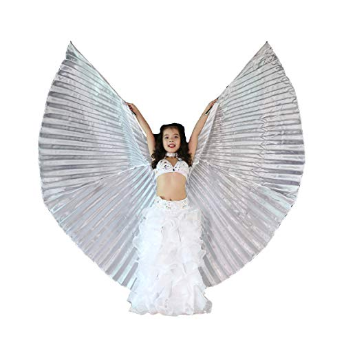 Light-Weight Halloween Costumes Belly Dance Isis Wings Colorful Wings for Children Kids -