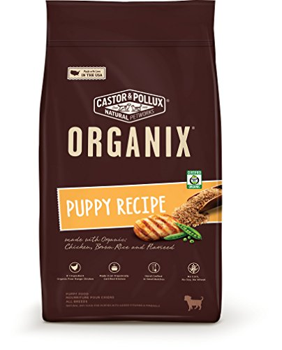 Organix Puppy Recipe Dry Dog Food, 14.5-Pound