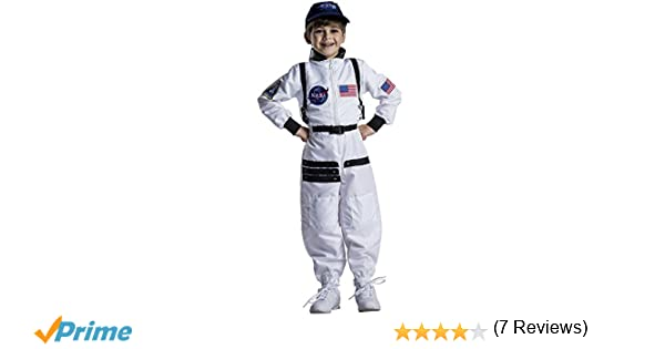 Dress Up America Atractivo Traje Espacial de Astronauta Blanco ...