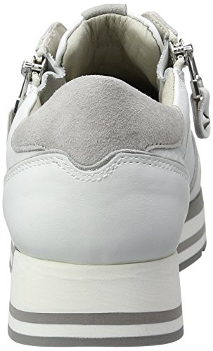 Rock Light weiss Kennel und Women's Top Low Weiß Sneakers Grau Sohle Schmenger Bianco Schuhmanufaktur ZO6WOn