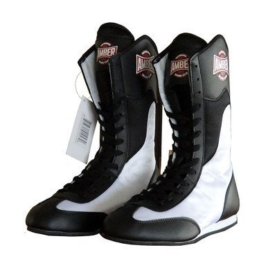 FightMaxxe v1.0 Full Height Boxing Shoes Size: 9 by Amber