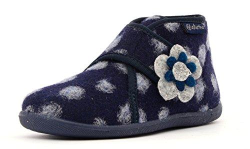 Naturino 7456 Mädchen Bootschuhe Blau 9101