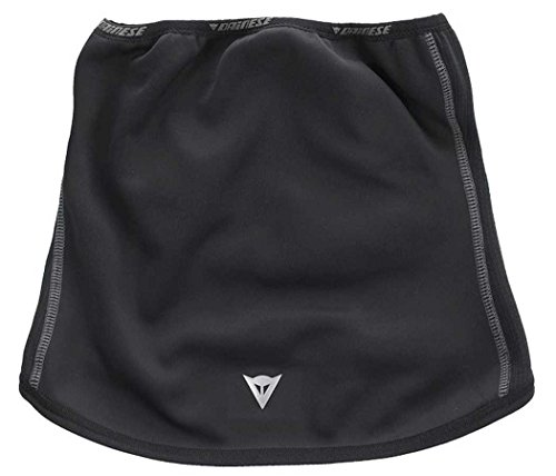 Dainese Ws Gaiter Adult Windstopper Fabric Neck Gaiter, Black, One Size