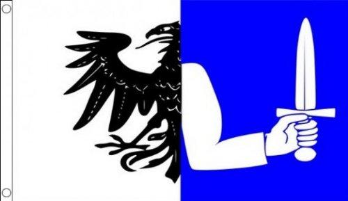 AZ FLAG Connaught Flag 3' x 5' - Connacht Province of Ireland Flags 90 x 150 cm - Banner 3x5 ft