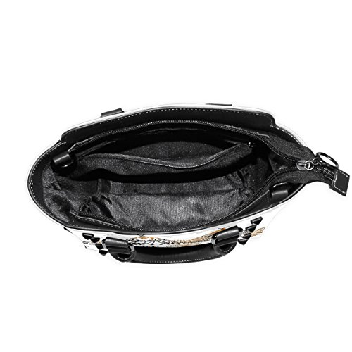 Purse Bennigiry PU Tents Tote Bag Rivet Women's Leather Arrows And Shoulder Bag Bohemian Fqa4Sf