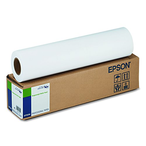 - Epson S041746 Singleweight Matte Paper (17in x 131ft Roll)