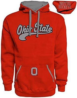 online store 1a46d 27ffc J. America NCAA Ohio State Buckeyes Mens Premium Hoodie Pullover Sweatshirt.  Loading Images.