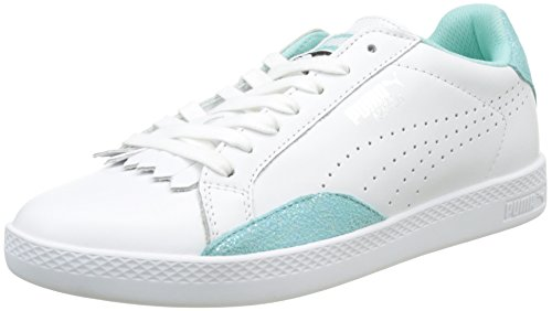 White Wn's Match Femme Reset Sneakers Lo Puma Basses 1FRxZfq