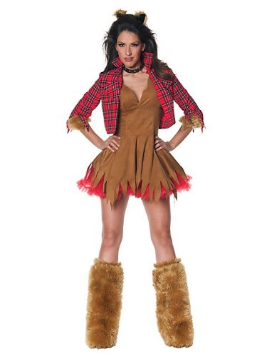 Women's Howlin' Werewolf Costume, Medium